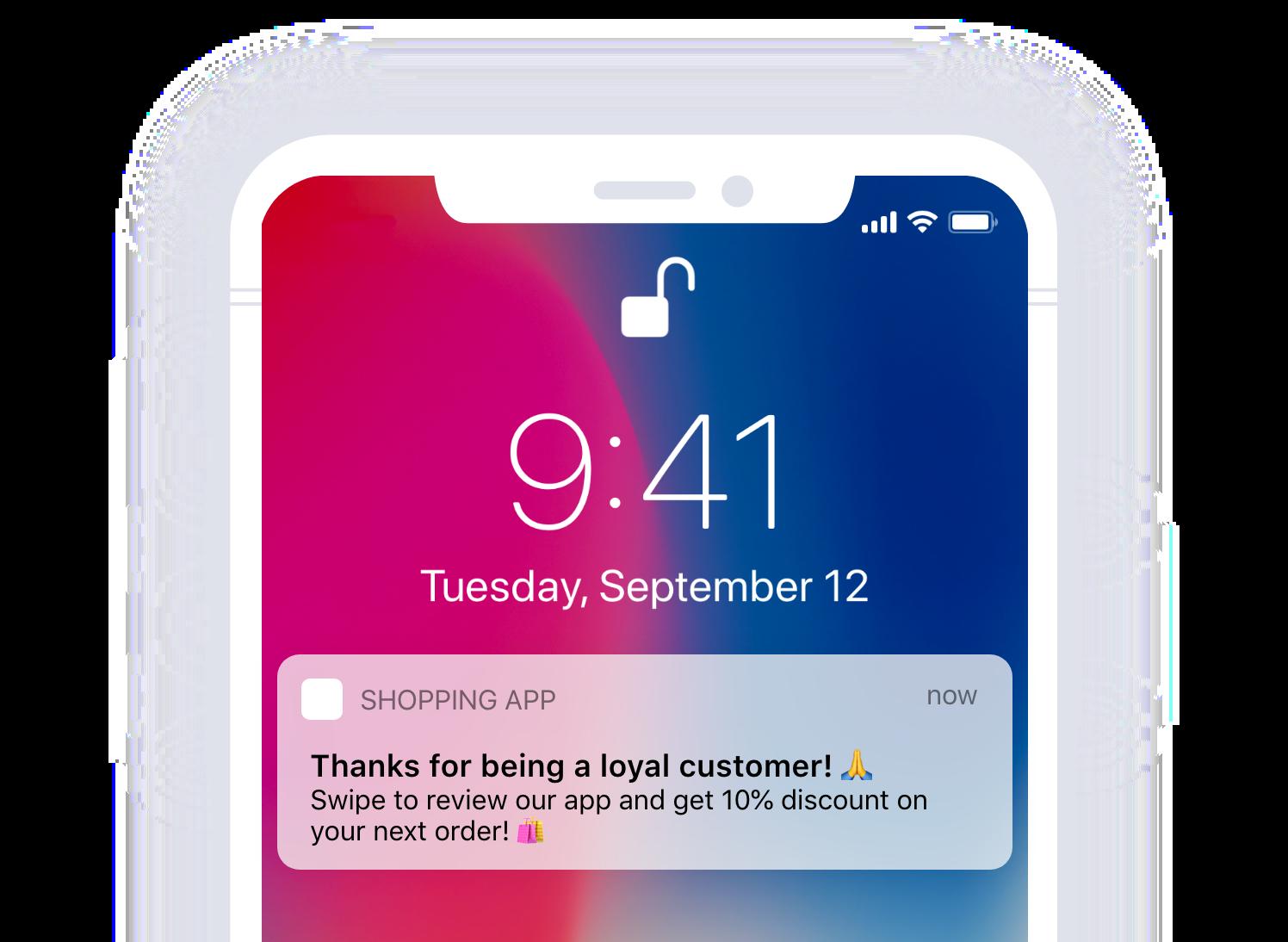 loyal customer discount
